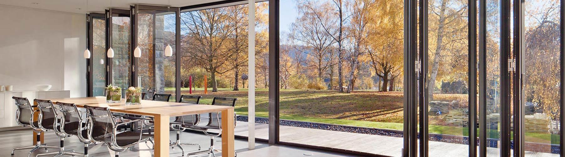 Solarlux® Aluminium Bi-folding Doors & SOLARLUX® Aluminium Bi Fold Doors | Bifold Doors | Bi Folding Doors ...