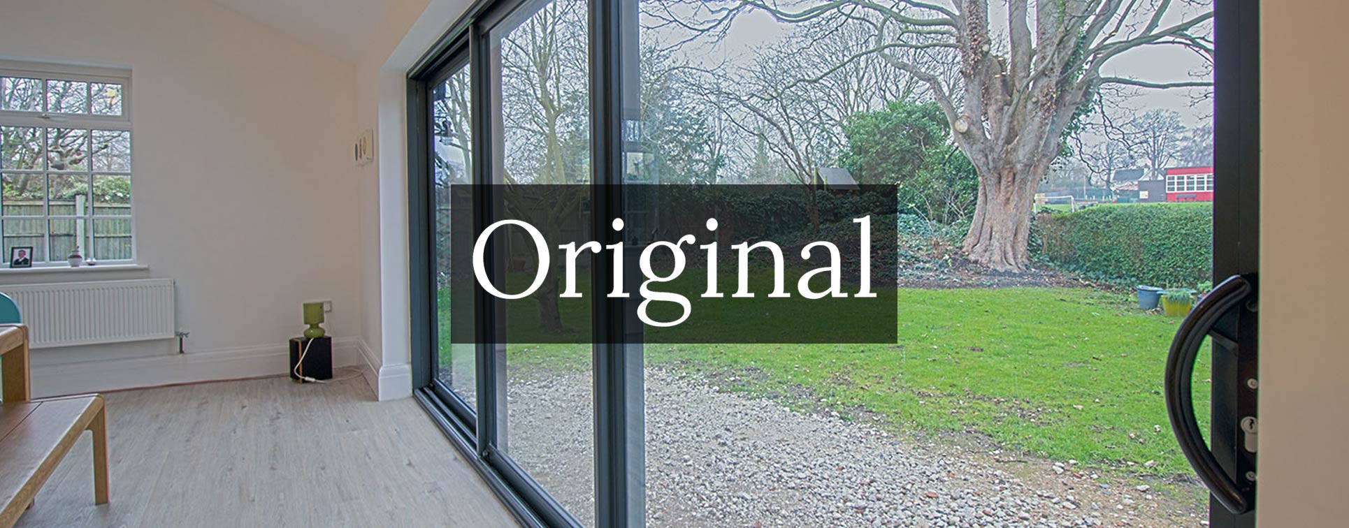 Original sliding doors