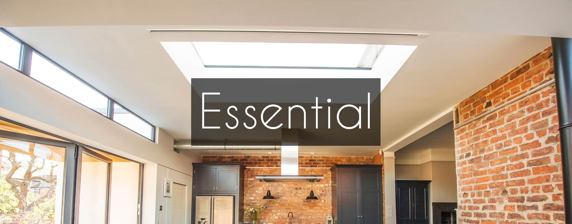 Essential Flat Roof Light