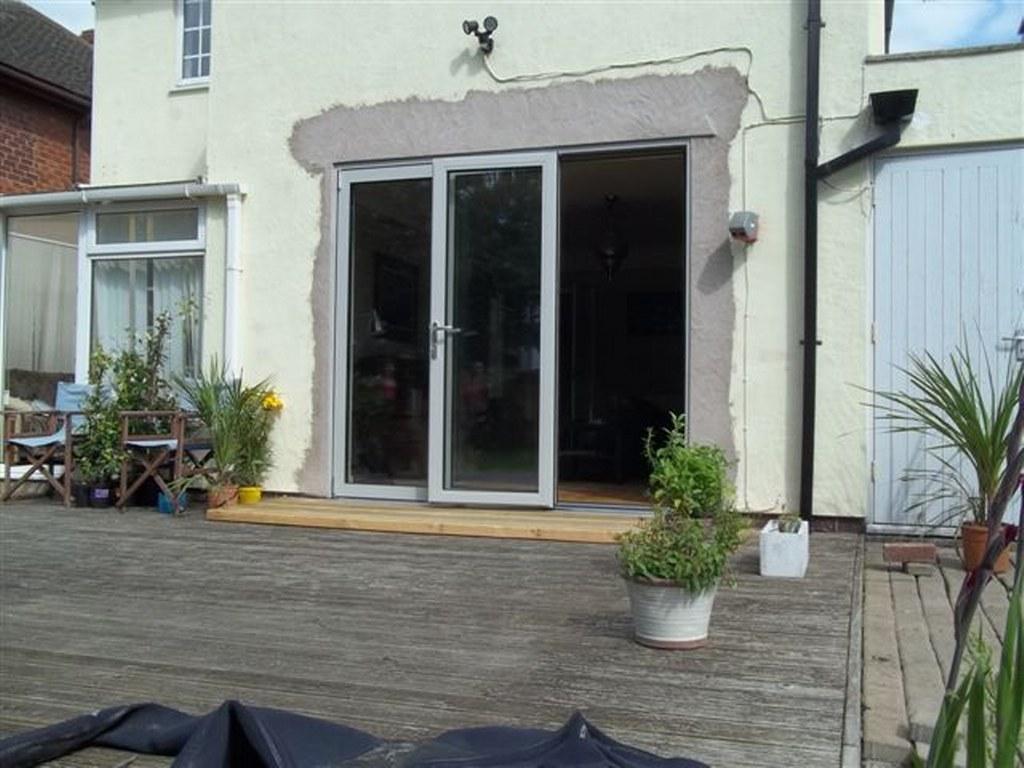 Showcase photo gallery of bifold door projects for 1800 patio doors