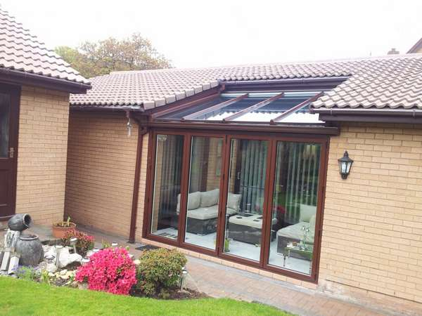 Mr H. Crosby,Liverpool, Design and biuld Garden room Cnservatory. Roof Glazed with 28mm Celcius One Elite U value .9