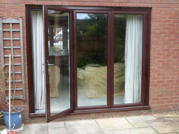 Mr T Wigan  Installation of Centor C1 Bi-fold doors with 44m triple & Showcase Photo Gallery of Bifold Door Projects